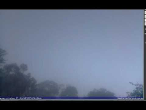 unknown star changes light shape  over canberra Australia