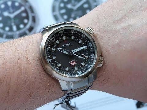 f1bc8f55476 Relógio Citizen Promaster Eco-drive GMT BJ7080-53E TZ30759T
