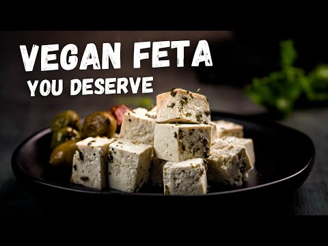 How to Make Vegan Herbed Tofu Feta 🧀 – Angry Broccoli Recipes