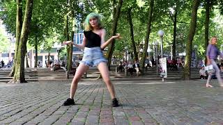 [DANCE IN PUBLIC] Hyuna - Lip & Hip (fail/fun ver.)