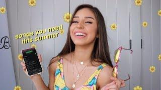 My Summer 2019 Playlist !!