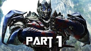 Transformers Rise of the Dark Spark Walkthrough Gameplay Part 1 - Drift (PS4)
