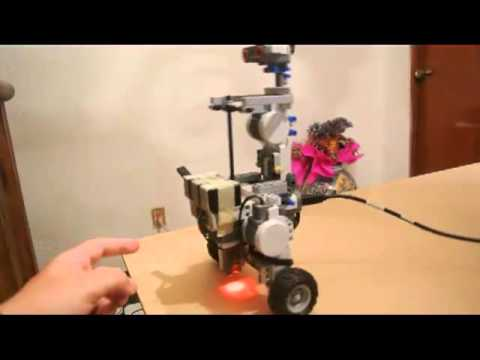 Lego Nxt Segway With Light Sensor Inverted Pendulum Youtube