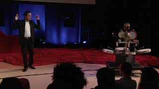 Composing, programming, and performing musical robots: Ajay Kapur at TEDxCalArts