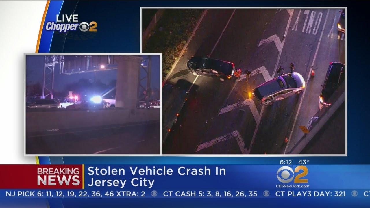 Stolen Vehicle Crash Investigation In Jersey City