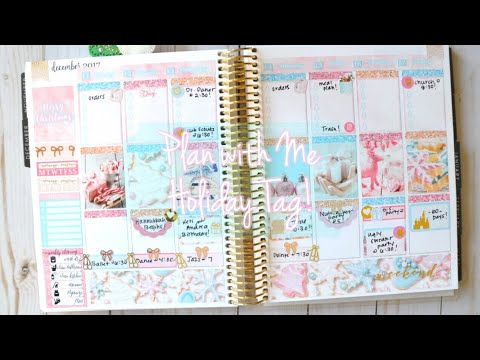 Plan with Me // Holiday Tag!