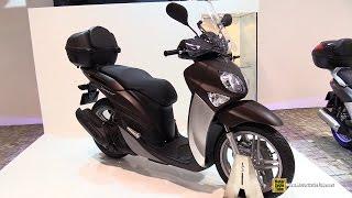 2015 Yamaha Xenter 150 Scooter - Walkaround - 2014 EICMA Milan Motorcycle Exhibition