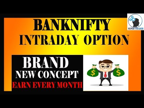 Bank nifty intraday option strategy | Earn every month consistently