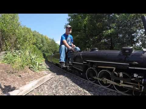 Pennsylvania Live Steamers Fall Meet - Railfanning the Rideable Trains
