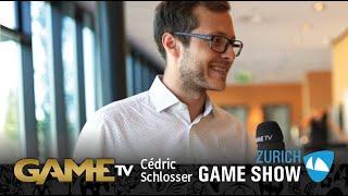 Game TV Schweiz - Interview mit Cédric Schlosser | Geschäftsführer MYI Entertainment | Zürich Game Show