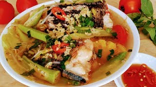 Cách Nấu Canh Chua Cá Lóc ngon Đậm Đà