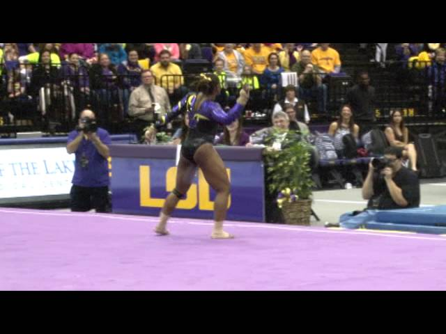 Lloimincia Hall's Perfect 10 vs. Alabama 1.31.14