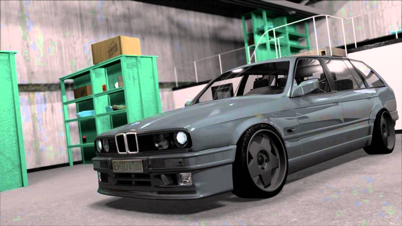 3d project bmw e30 touring youtube. Black Bedroom Furniture Sets. Home Design Ideas