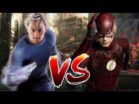 Flash VS Quicksilver   Who Wins?