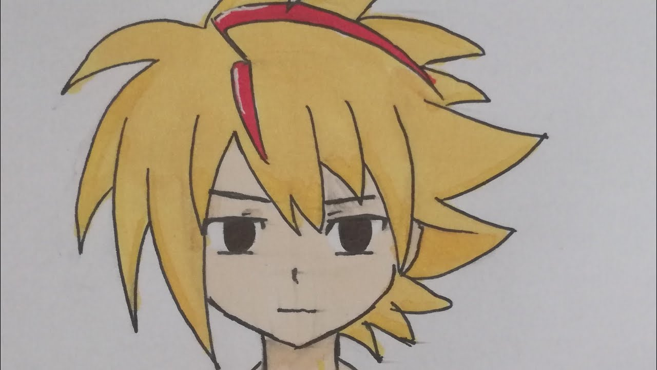 How To Draw Shu Kurenai From Beyblade Burst By Rin The Fennec Fox