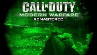MODERN WARFARE REMASTERED TRAILER GAMEPLAY (COD4 HD Remake 1080p 60FPS)