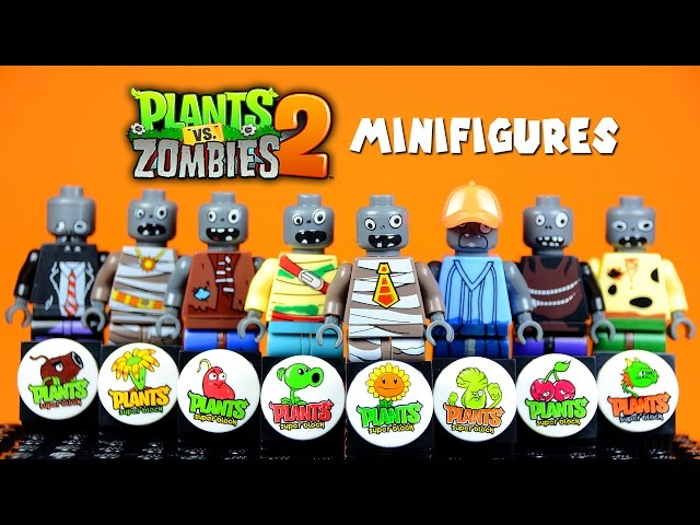 LEGO Boom Beach KnockOff Minifigures Set Review - YouTube Gaming