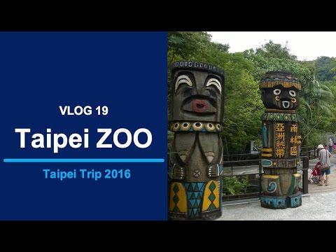 VLOG 19: Taipei ZOO w/ Panda! [Taipei Trip 2016]