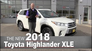 New 2018 Toyota Highlander XLE | Mpls, Golden Valley, Burnsville, Bloomington, MN | Walk Around