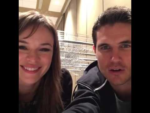 Download Danielle Panabaker & Robbie Amell live- ECCC 2016