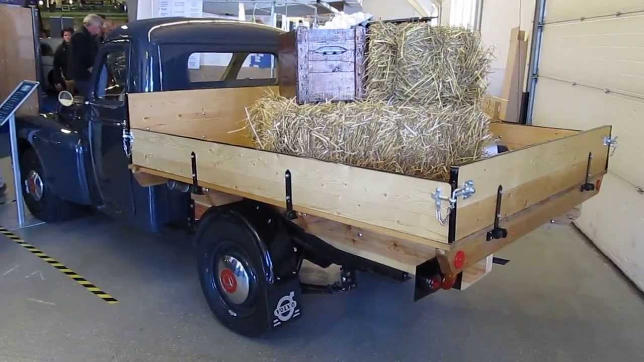volvo 445 floby pick up truck 1959 p110 youtube. Black Bedroom Furniture Sets. Home Design Ideas