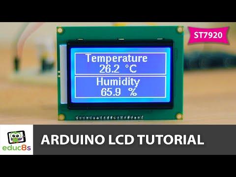 Arduino LCD Tutorial ST7920