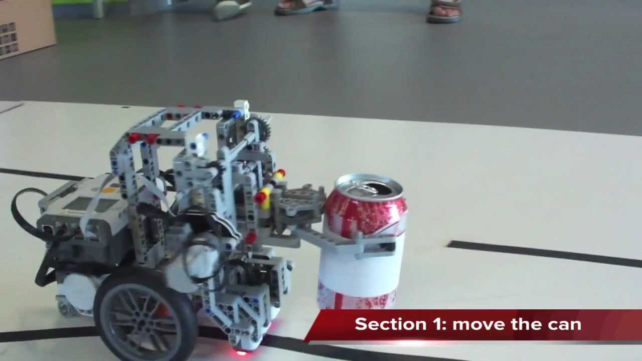 Attaching a grabber to a forklift mechanism? - LEGO Technic and