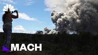 What The Mt. Kilauea Eruptions Mean For Climate Change | Mach | NBC News