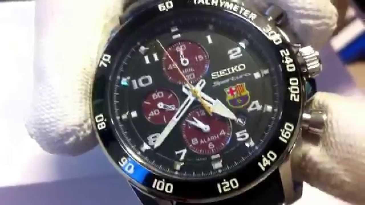 Zegarek Seiko FC Barcelona SNAE75P1 Luksus na twej dłoni! - YouTube 4d472b6050f
