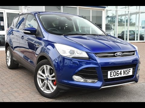 used ford kuga 2 0 tdci titanium x 5dr 2wd deep impact blue 2014 youtube. Black Bedroom Furniture Sets. Home Design Ideas