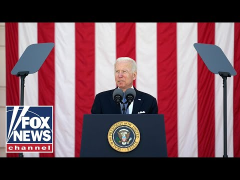 Buttface Biden's Memorial Day tribute gets political: 'Democracy itself is in peril'