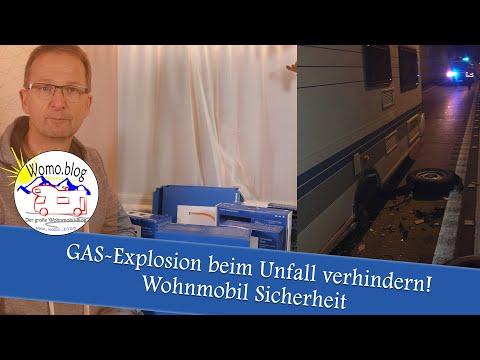 GAS-EXPLOSION BEIM UNFALL VERHINDERN!