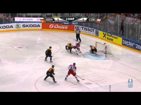 MS v hokeji 2015 Česko - Německo 4:2