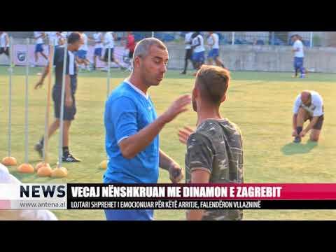 Talenti vecaj nënshkruan me Dinamo Zagreb - Antena TV - News