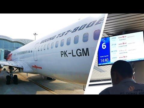 Trip Report Batam - Medan with Lion Air JT973 | Boeing 737-900ER | Broewnis Travel