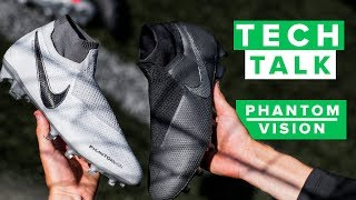 Best Nike football boots ever? | Nike Phantom Vision Tech Talk