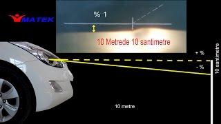 Far ayarı - Headlight adjustment