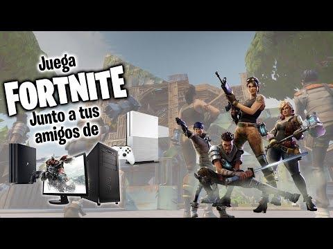 COMO AGREGAR A TUS AMIGOS DE PC SI ERES DE PS4 O XBOX ONE  | FORTNITE