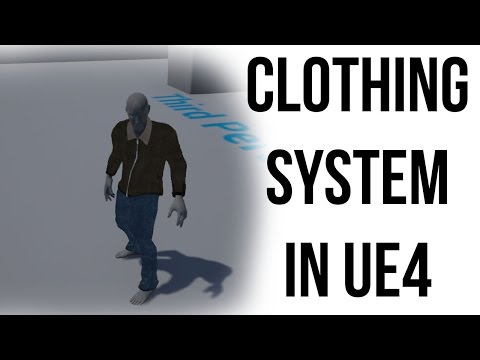 Add clothes to your characters in Unreal - Go Make Games UE4