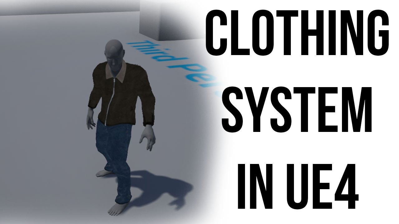 Add clothes to your characters in Unreal - Go Make Games UE4 Tutorial