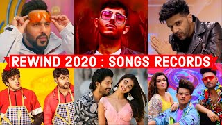 Rewind 2020 : 2020's Indian Songs Records - Most Viewed, Most Liked, Most Disliked, Most Commented