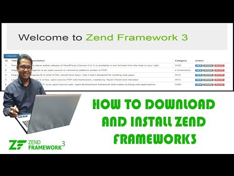 How to download and install Zend framework 3 in localhost
