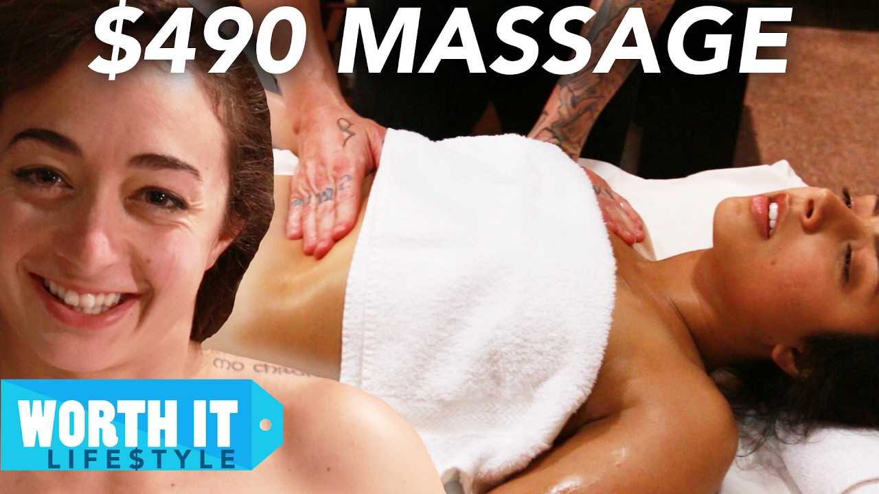 Hot dude gets the massage of his life