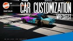 Wreckfest - Car Customization and Liveries