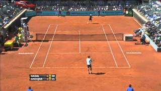 Pablo Andujar Madrid 2013  Hot Shot Saturday