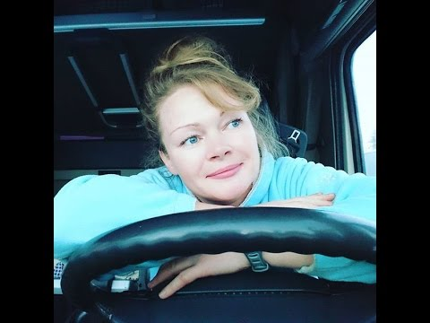 Trucking Girls women drivers from Europe and Scandinavia  Да