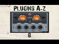 Plugins A-Z 'B' is Boost from Sample Magic