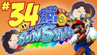 Super Mario Sunshine: The Caged Shine Sings - Part 34 - Game Grumps
