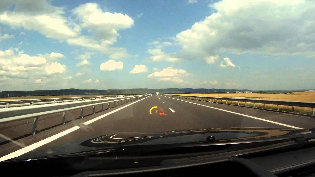 Autostrada A3 310 kmh in BMW M6 1080p  Ro  YouTube