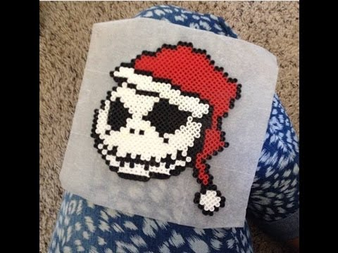 ♥ THE NIGHTMARE BEFORE CHRISTMAS SANTA JACK♥ (PEARLER BEADS ...